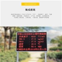 合肥市空气负氧离子、PM2.5、温湿度等24小时实时在线监测仪