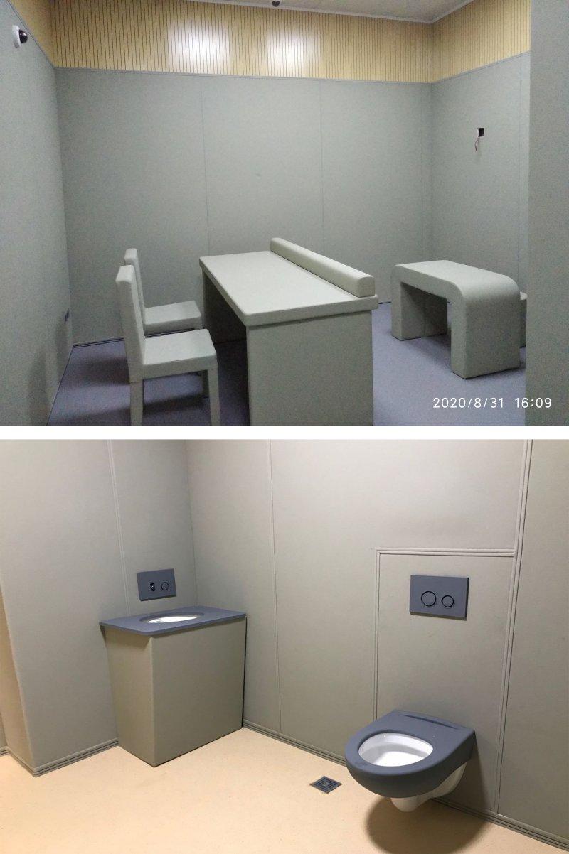 纪委留置室软包-新材料建设标准