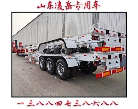13.95米骨架半挂车15米集装箱运输车配置介绍