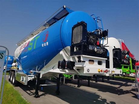 45立方散装水泥槽罐车厂家直销