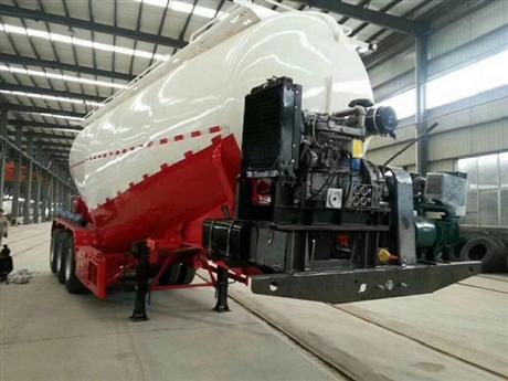 35立方粉料物料罐车40立方散装水泥罐车50立方粉煤灰罐车厂家