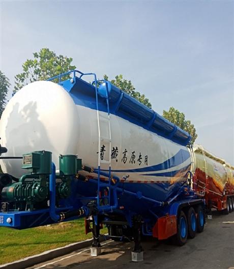 40立方散装水泥槽罐车厂家直销