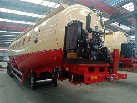 50立方罐式石灰粉运输车使用说明