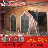 江苏影楼墙绘 影视基地手绘壁画油画 价格合理新视角