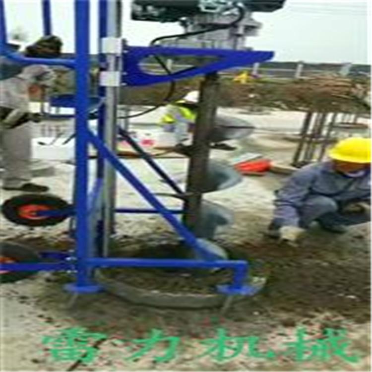 柴油打桩机柴油全自动岩石钻