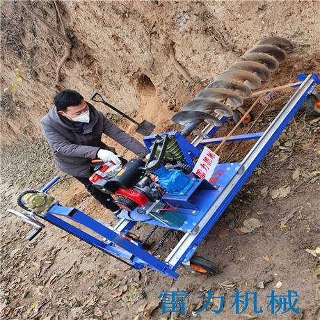 新型打桩钻孔机导轨式栽杆打洞强实力