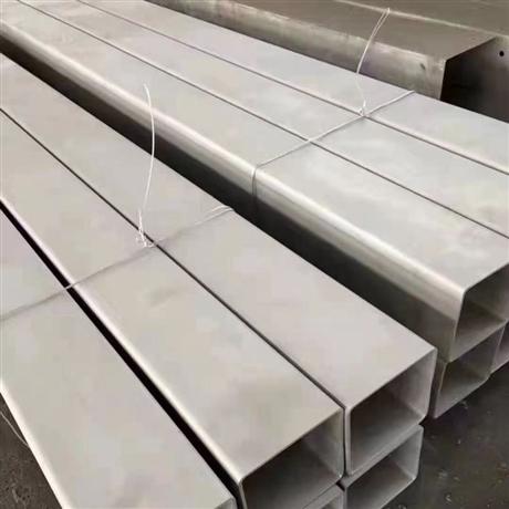 不锈钢焊管方管表面喷砂
