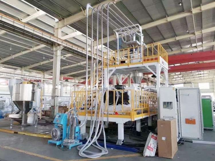PBAT吸塑包装设备 金纬机械 降解材料吸塑包装片材设备
