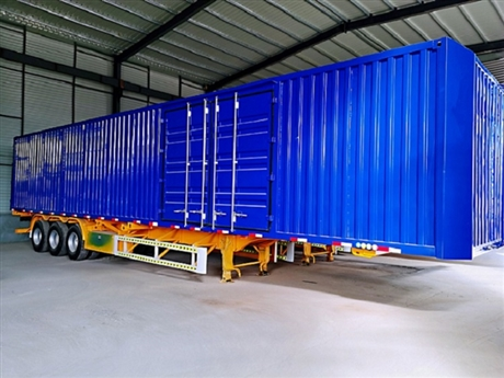 40英尺骨架集装箱半挂车成交价格