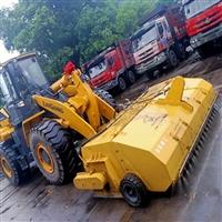 装载机改清扫机 道路扫路车 液压扫路机 装载机封闭式清扫器