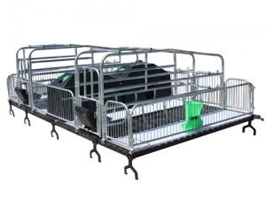 靖林畜牧定制母猪产保一体床 量大可议价