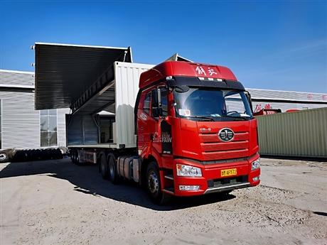 14米展翼厢式半挂车厂家出售