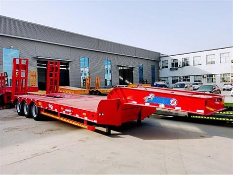 13米挖掘机运输托板车定制厂家