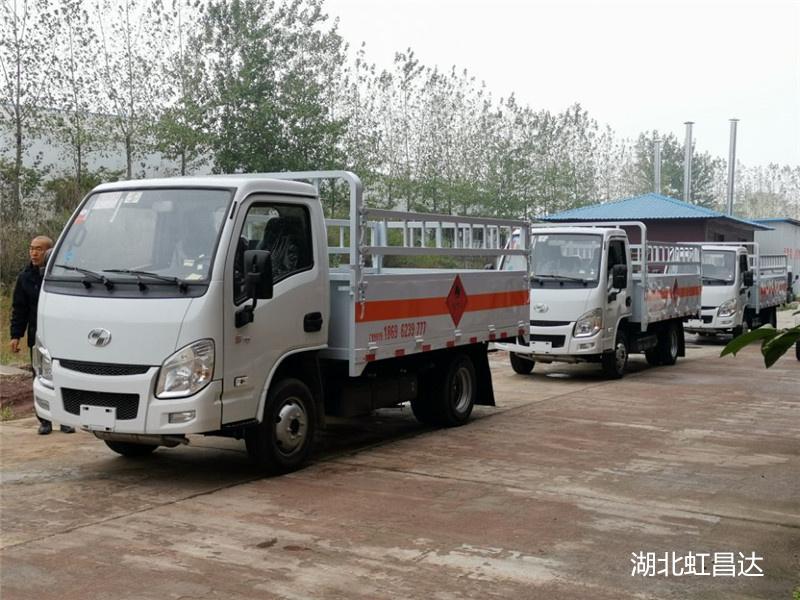 气瓶危险品运输车,最小的气瓶运输车,东风途逸 上汽跃进产品推荐