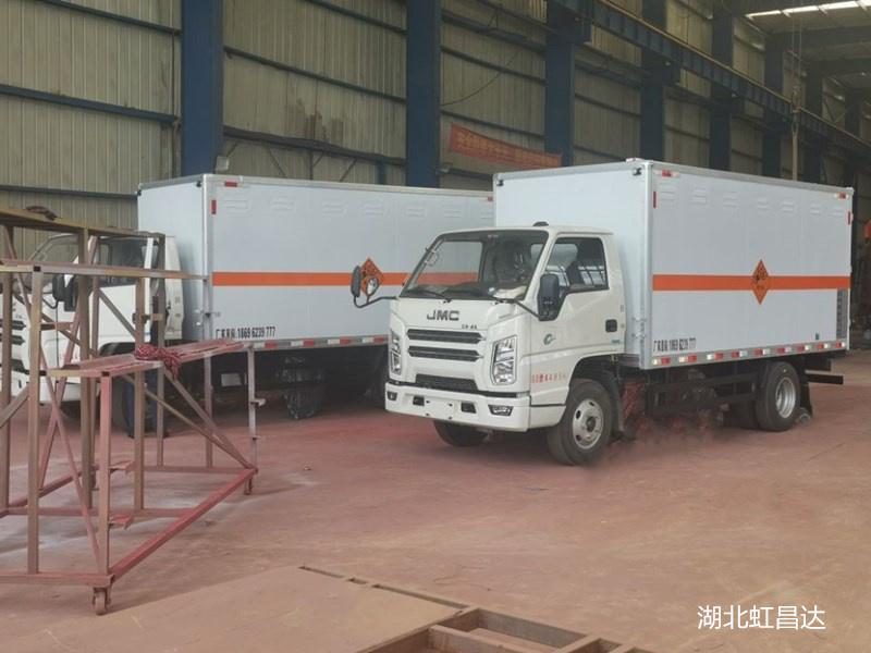 自贡爆炸品运输车,民爆器材专用车,交货期短,节约时间成本