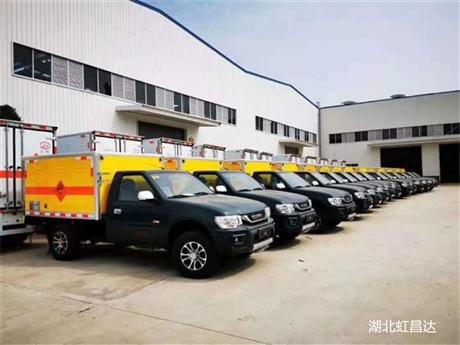 贵州皮卡爆破器材车,东风日产和江铃,四驱爆破器材运输车辆那款好