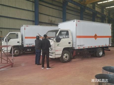 西藏爆破器材运输车价格,跃进爆破器材运输车底盘配置