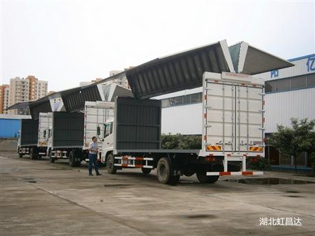 黑龙江翼开启厢式货车销售厂家