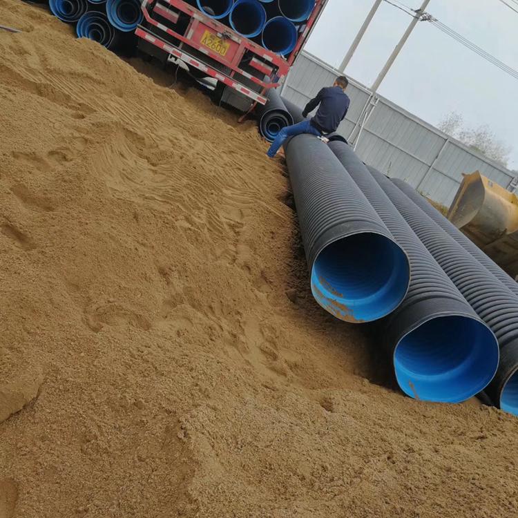 安阳双壁波纹管 厂家供货安阳市HDPE双壁波纹管生产厂家