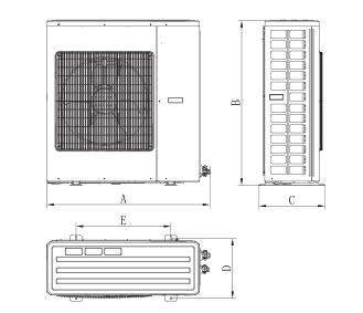 格力变频冷库 冷凝机组 全直流变频风冷GNJ-QF2CDsJ/NfA