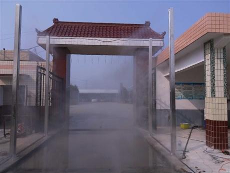 养殖场便利性全自动车辆消毒设备