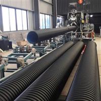 电力预埋碳素波纹管 大口径单臂缠绕管 周口PE双壁塑料螺旋波