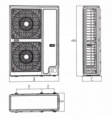 格力商用冷库 定频冷凝机组 C系列全封闭GNJ-QF10CG/C