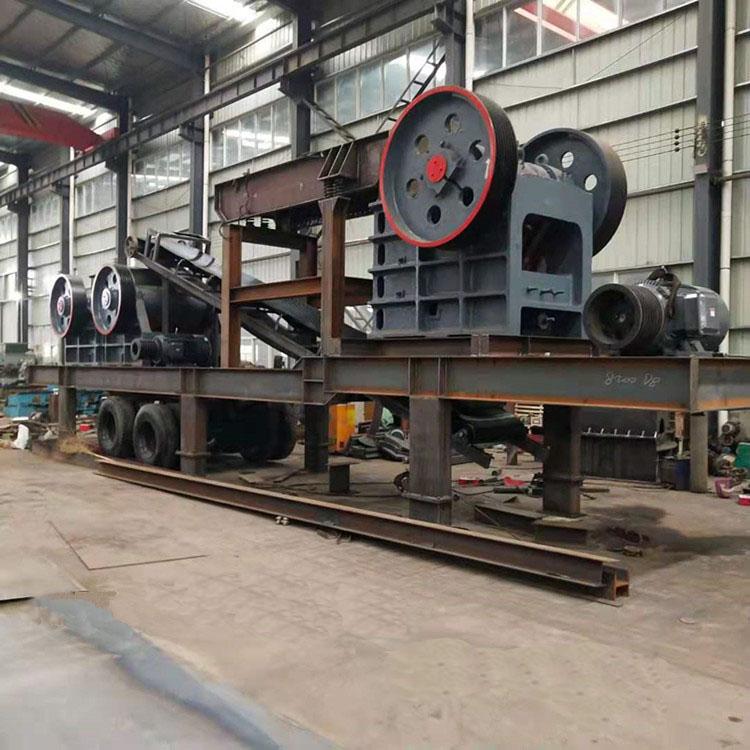 供應石料生產機器 大型采石場打石機 鵝卵石顎式破碎機