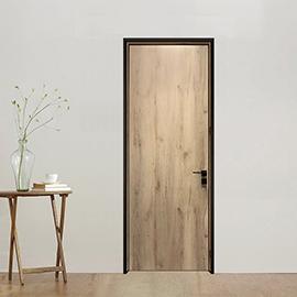 长沙定制木门 长沙定制极窄边框木门