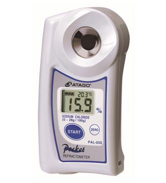 ATAGO爱拓 便携式数显融雪剂氯化钠 Nacl浓度计 PAL-03S