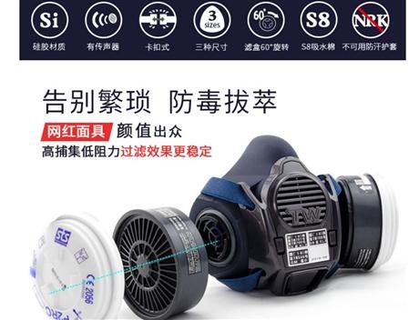 中国一级代理商日本进口重松制作所TW08S防尘防毒面具手办模型