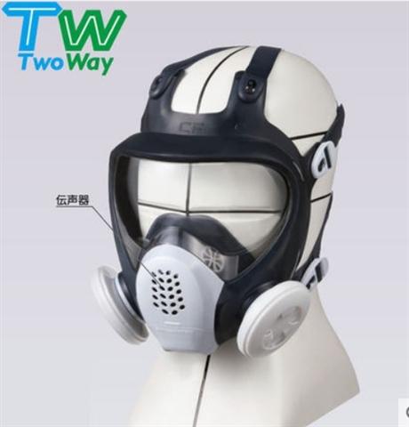 中国一级代理商 SHIGEMATSU重松制作所 TW088全面具喷漆化工