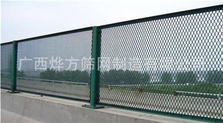 广西烨方   公路桥梁防护网防抛网