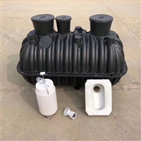安陆化粪池厂家 三格式化粪池接管子图 塑料化粪池钱
