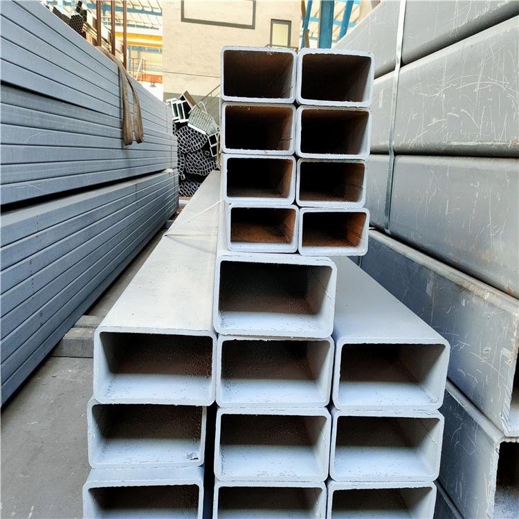 镀锌方管 方管拉弯热镀锌方管 镀锌矩形管 镀锌方通扁通打孔加工