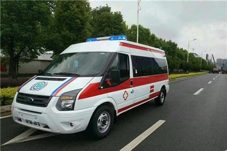 张家口120救护车出租-24小时服务