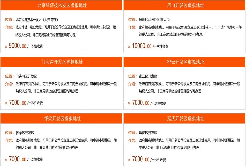 北京工商局注册公司