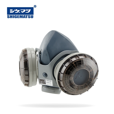 国内一级代理泽津伟业日本重松制作所DR28SU2K双滤盒防粉尘面具