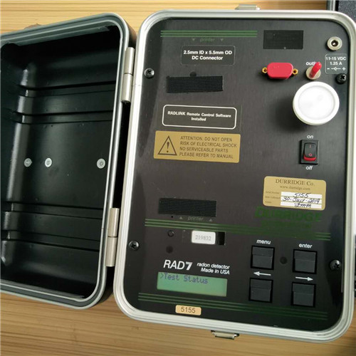 美国Durridge RAD7测氡仪 测量空气中的氡 土壤探头可测量土壤中的氡   水中氡配件来测量水中氡气