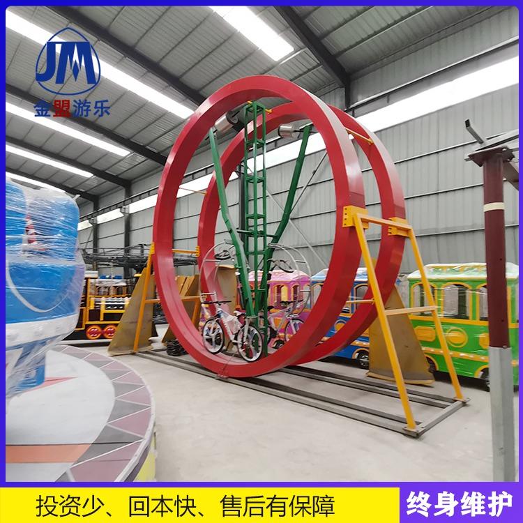 网红自行车室外儿童游乐设备