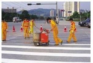 湄潭马路划线公司 贵州热熔涂料生产厂家 路面施工队伍