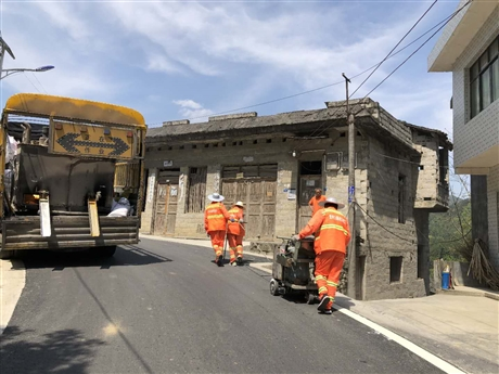 重庆道路划线 小区工厂马路 地下停车库画线施工公司