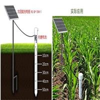 土壤墒情水分温湿度监测,山东太阳能板土壤墒情检测站