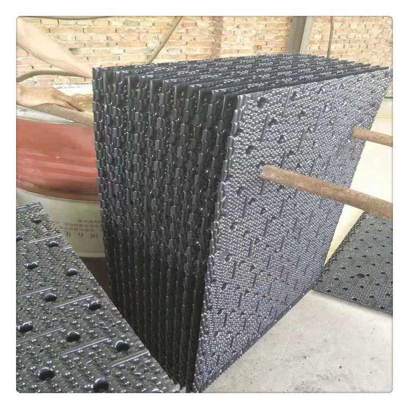 電廠冷卻塔填料 廠家菱電耐高溫蜂窩狀PVC良機空研