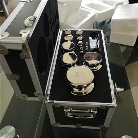 长沙E2等级无磁砝码铝箱包装 1mg-200g天平不锈钢套装砝码价格