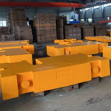 长沙出租10t铸铁配重砝码 天车配重试验铸铁砝码 5吨标准砝码价格
