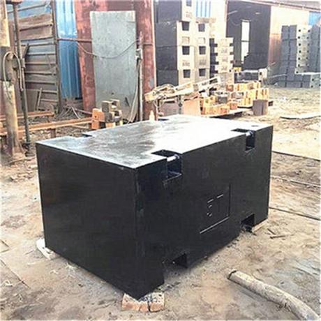 10吨钢包铸铁标准砝码带4个吊耳