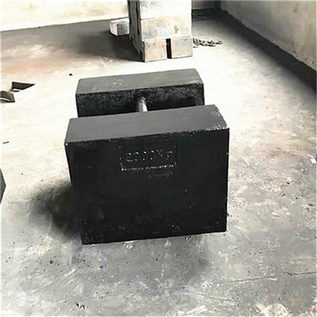 锁型铸铁砝码2吨价格 安徽2000kg灰口铁砝码标号HT200