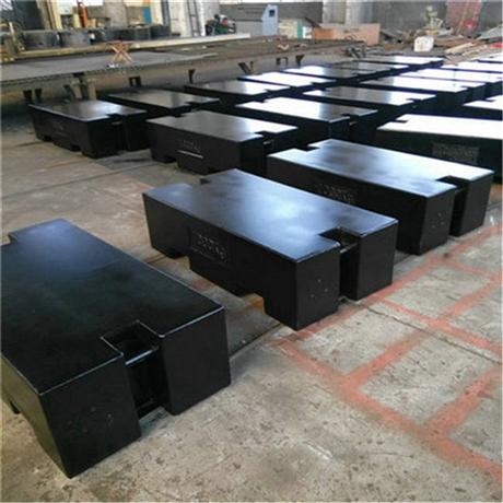 拉萨校验地磅砝码1-2吨平板型/圆滚形铸铁标准砝码厂家