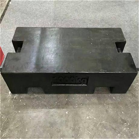 1吨校地磅的砝码价格 1吨电子秤砝码厂家